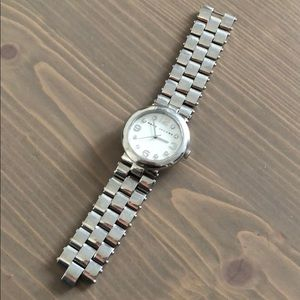 Marc by Marc Jacobs silver watch